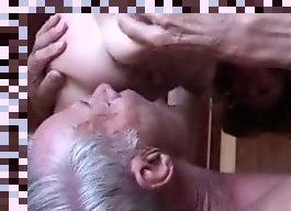 husband eating wifes creampie